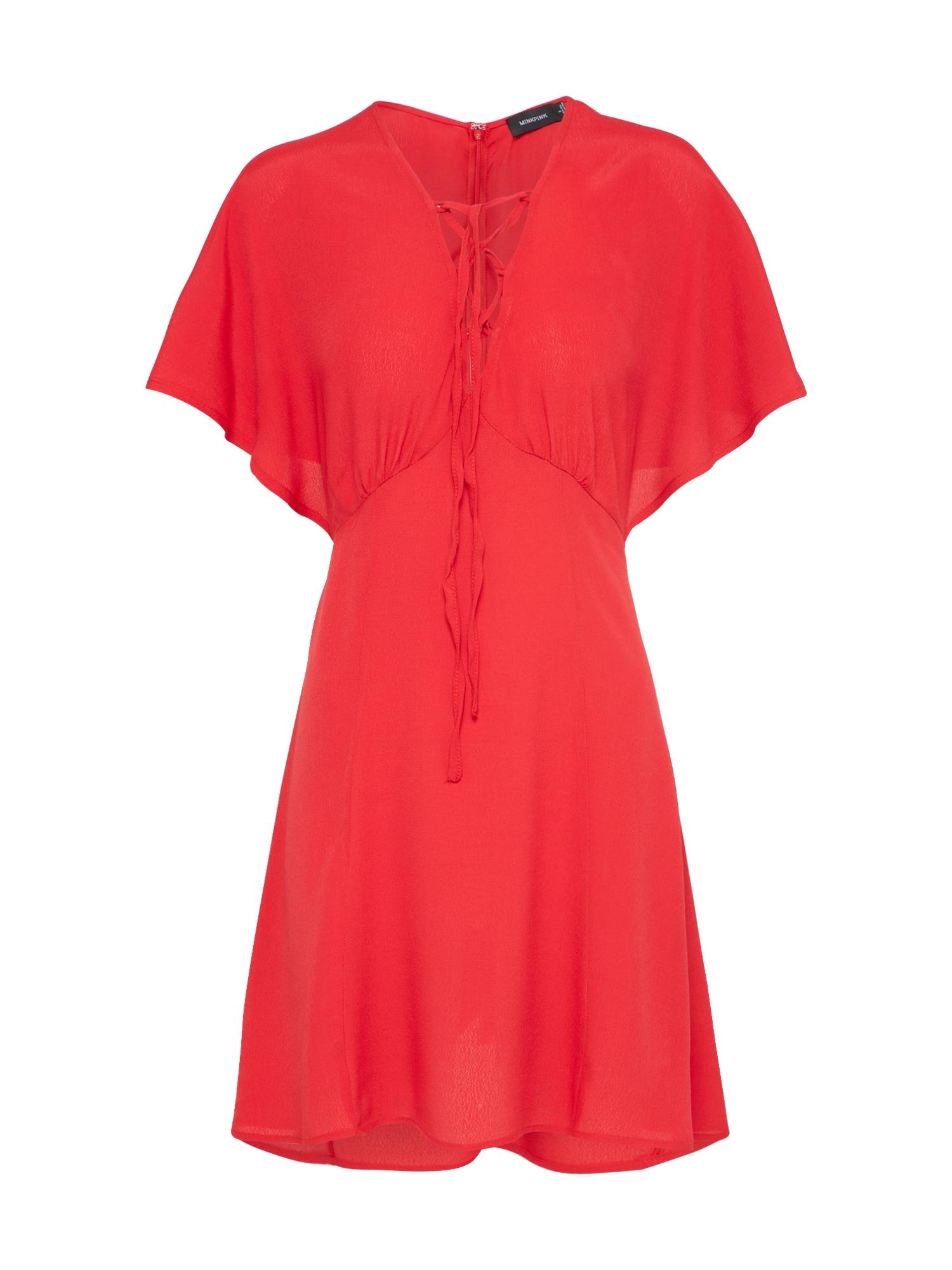 Šaty Hot Springs světle červená MINKPINK