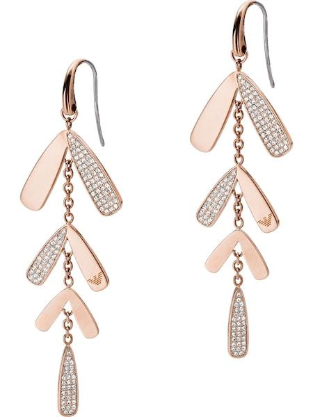 Ohrringe für Frauen - Emporio Armani Ohrhänger rosegold  - Onlineshop ABOUT YOU