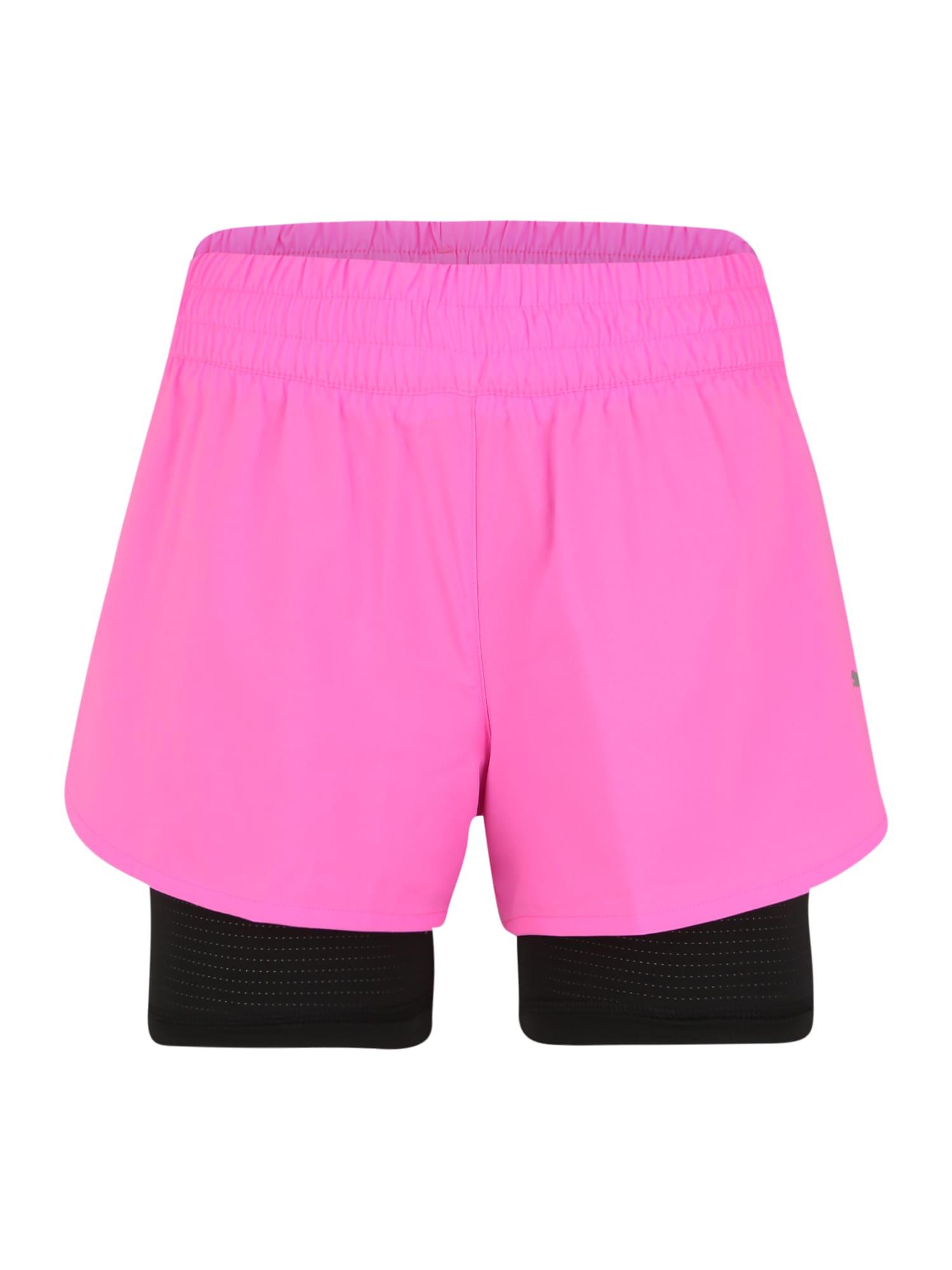 PUMA Sportovní kalhoty 'Favorite'  pink / černá