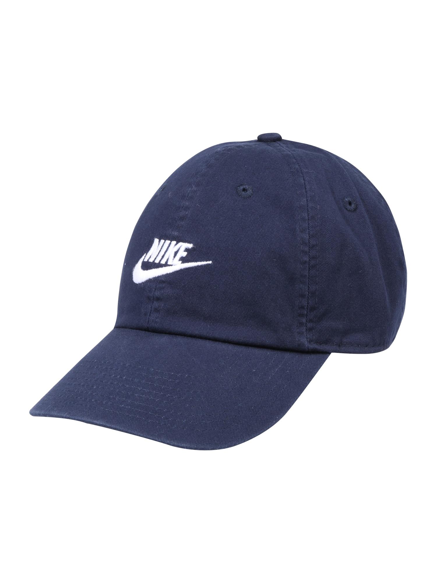 Kšiltovka H86 tmavě modrá bílá Nike Sportswear