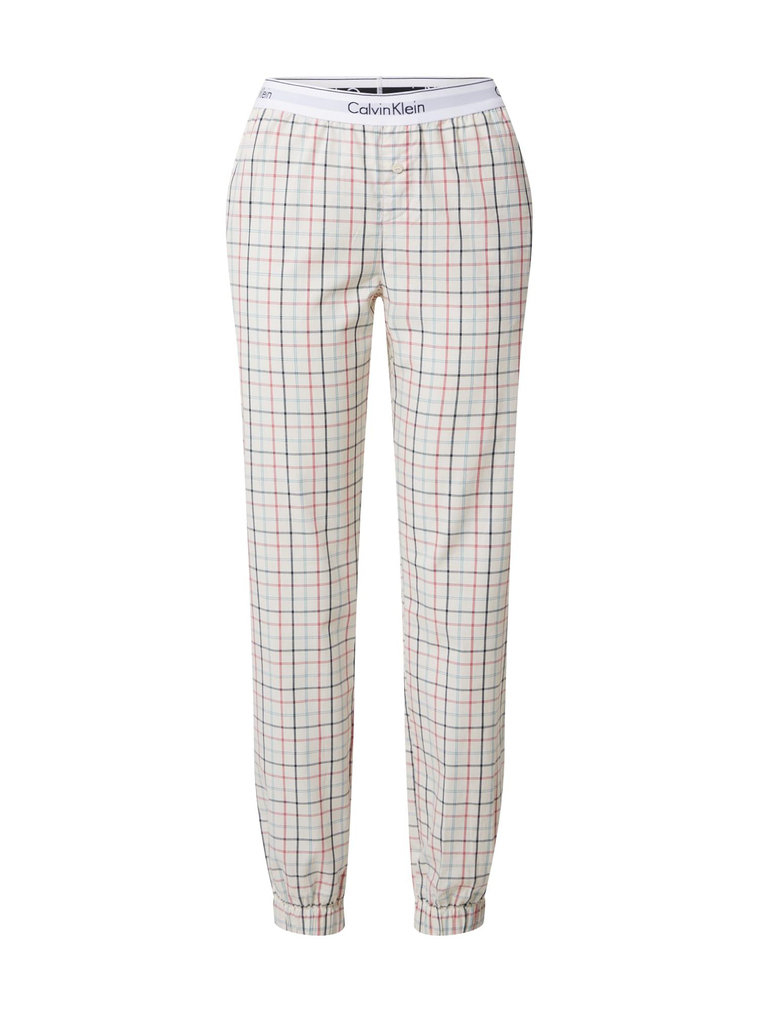 Calvin Klein Underwear Pyžamové kalhoty  béžová / mix barev