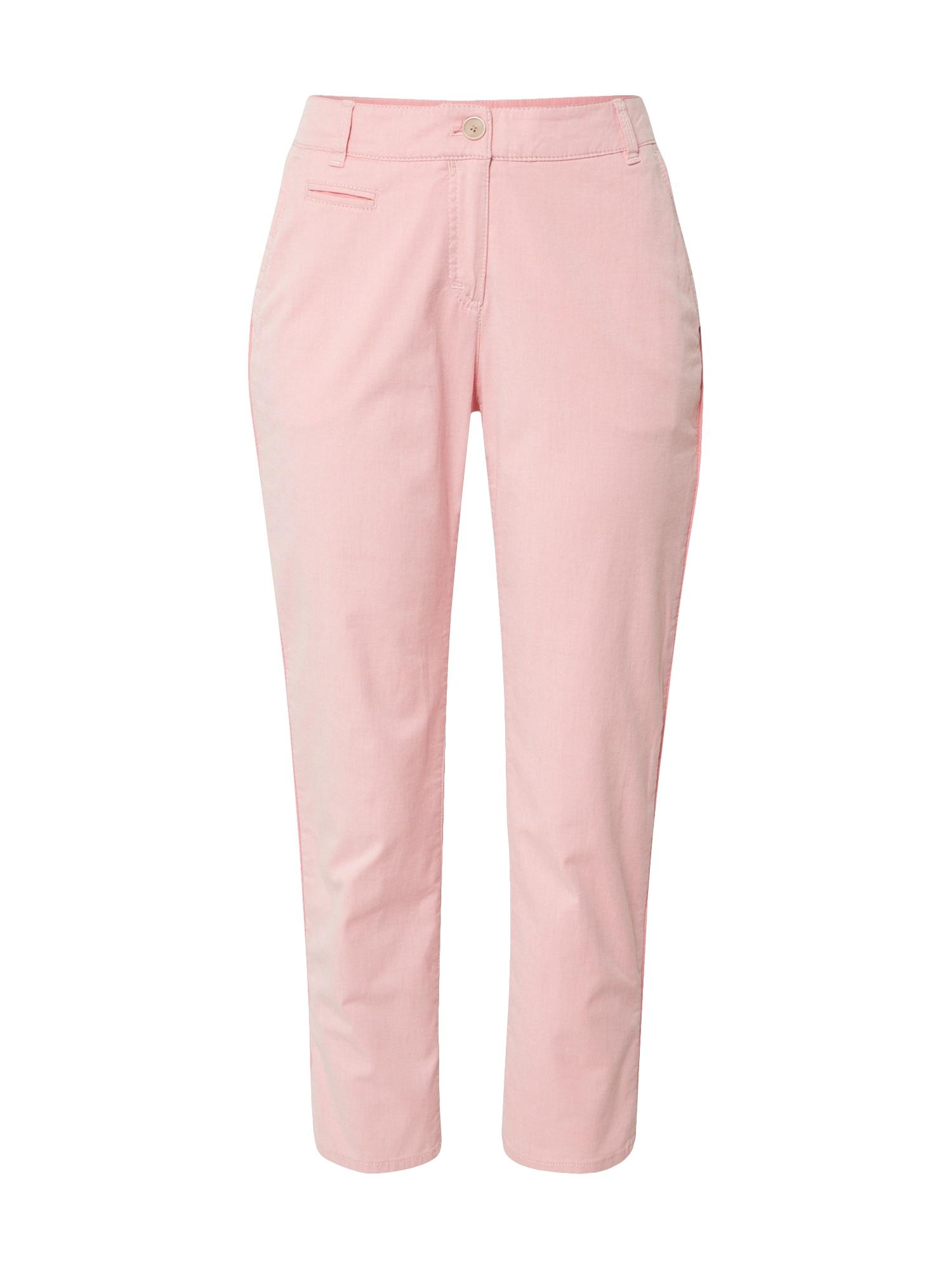 BRAX Chino stiliaus kelnės 'RHONDA S' ryškiai rožinė spalva