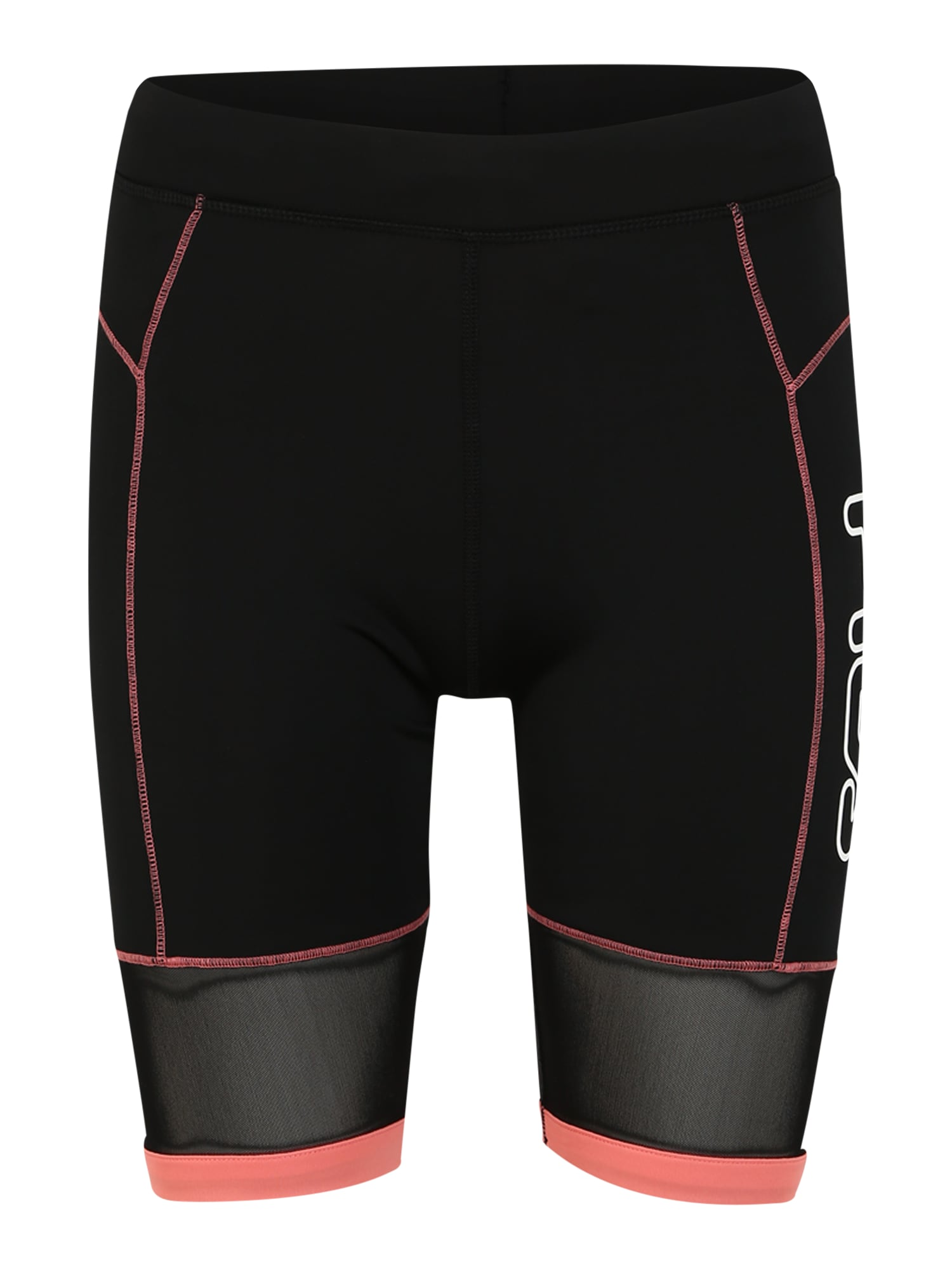 FILA Sportinės kelnės 'WMN AMSER' koralų splava / juoda