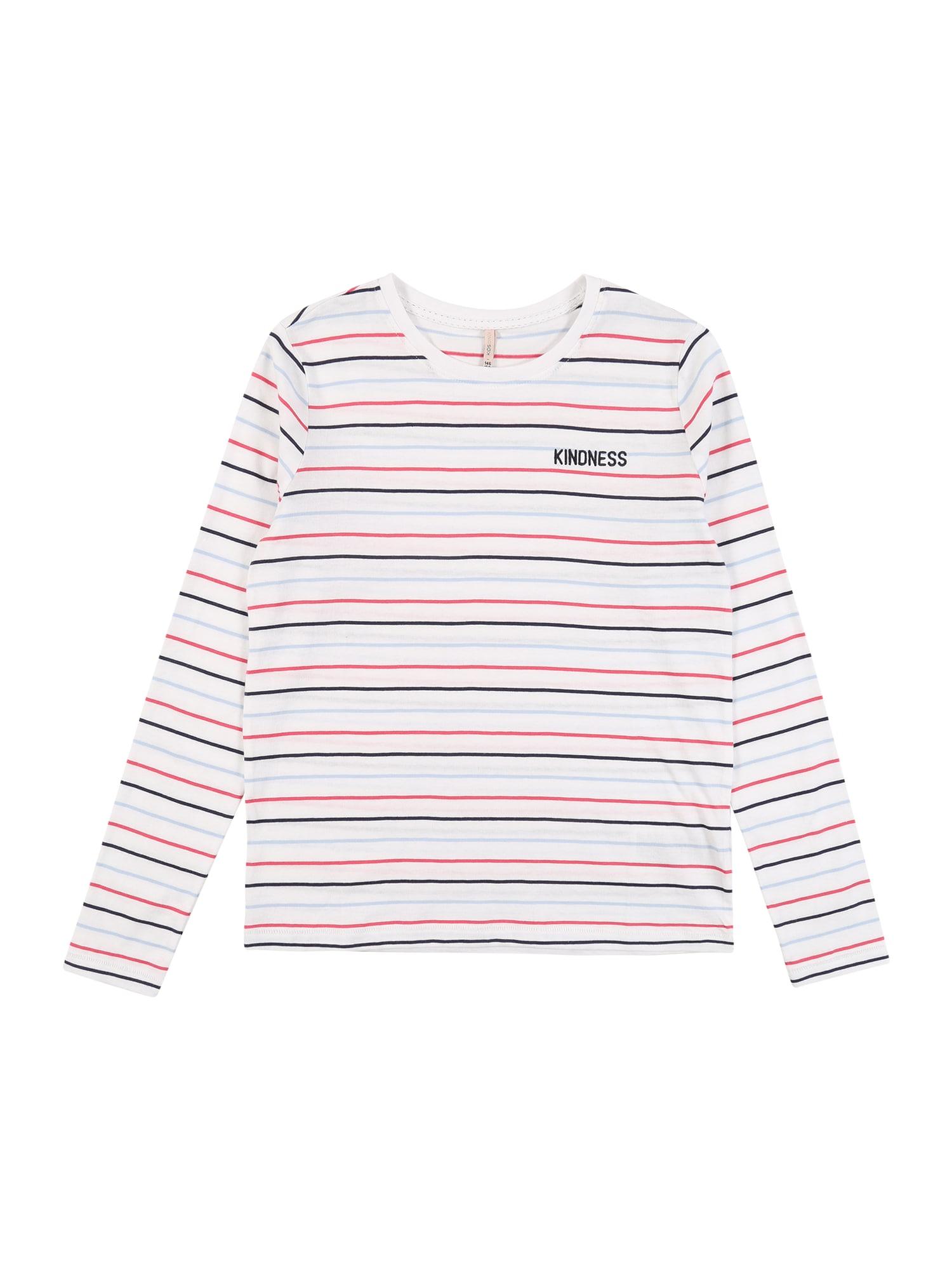 KIDS ONLY Marškinėliai 'SINNA' balta / raudona / mėlyna