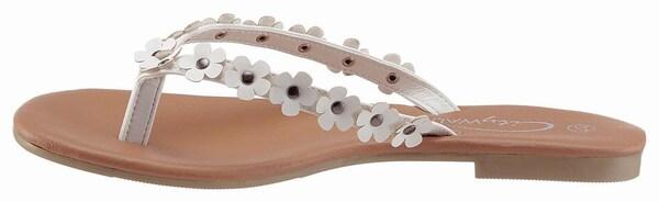 Sandalen für Frauen - CITY WALK Zehentrenner weiß  - Onlineshop ABOUT YOU