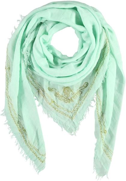 Schals für Frauen - Passigatti Baumwoll Tuch mint  - Onlineshop ABOUT YOU