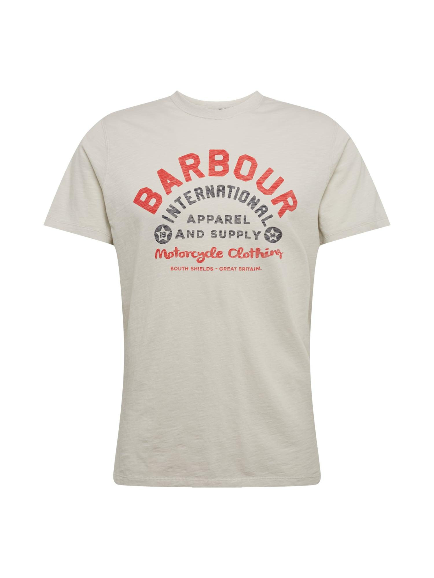 Barbour International Marškinėliai balta
