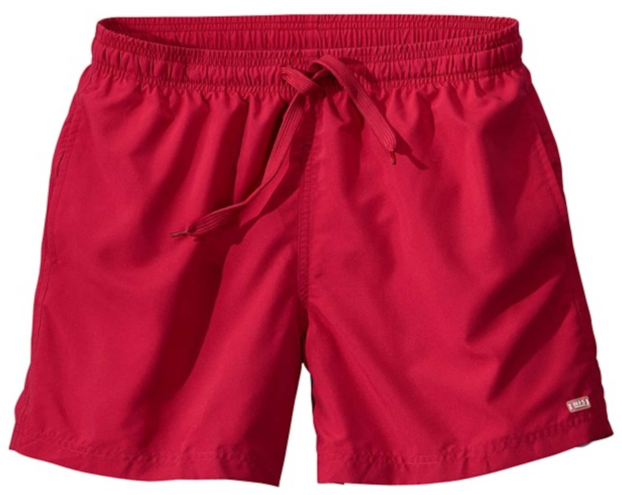 Plavky červená H.I.S