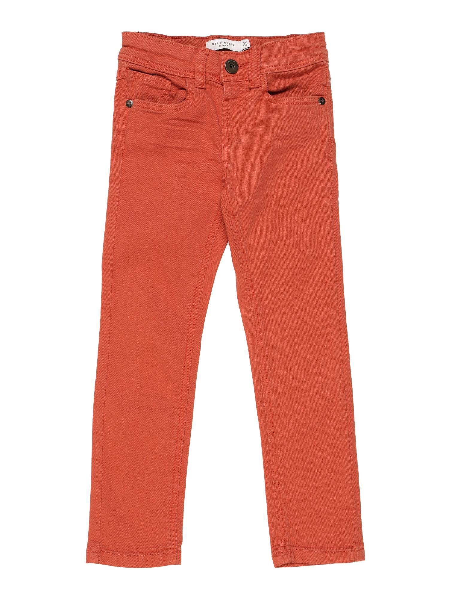 NAME IT Kelnės oranžinė