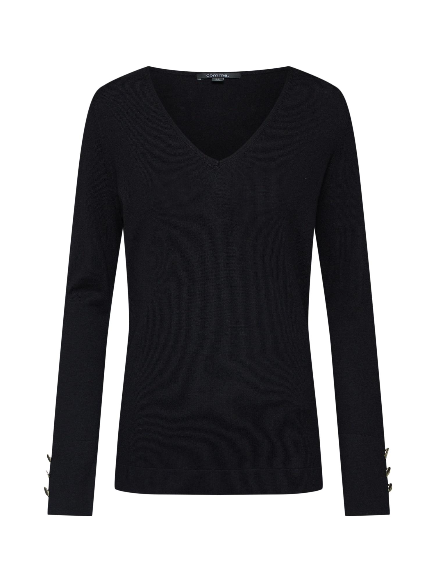 COMMA Megztinis juoda