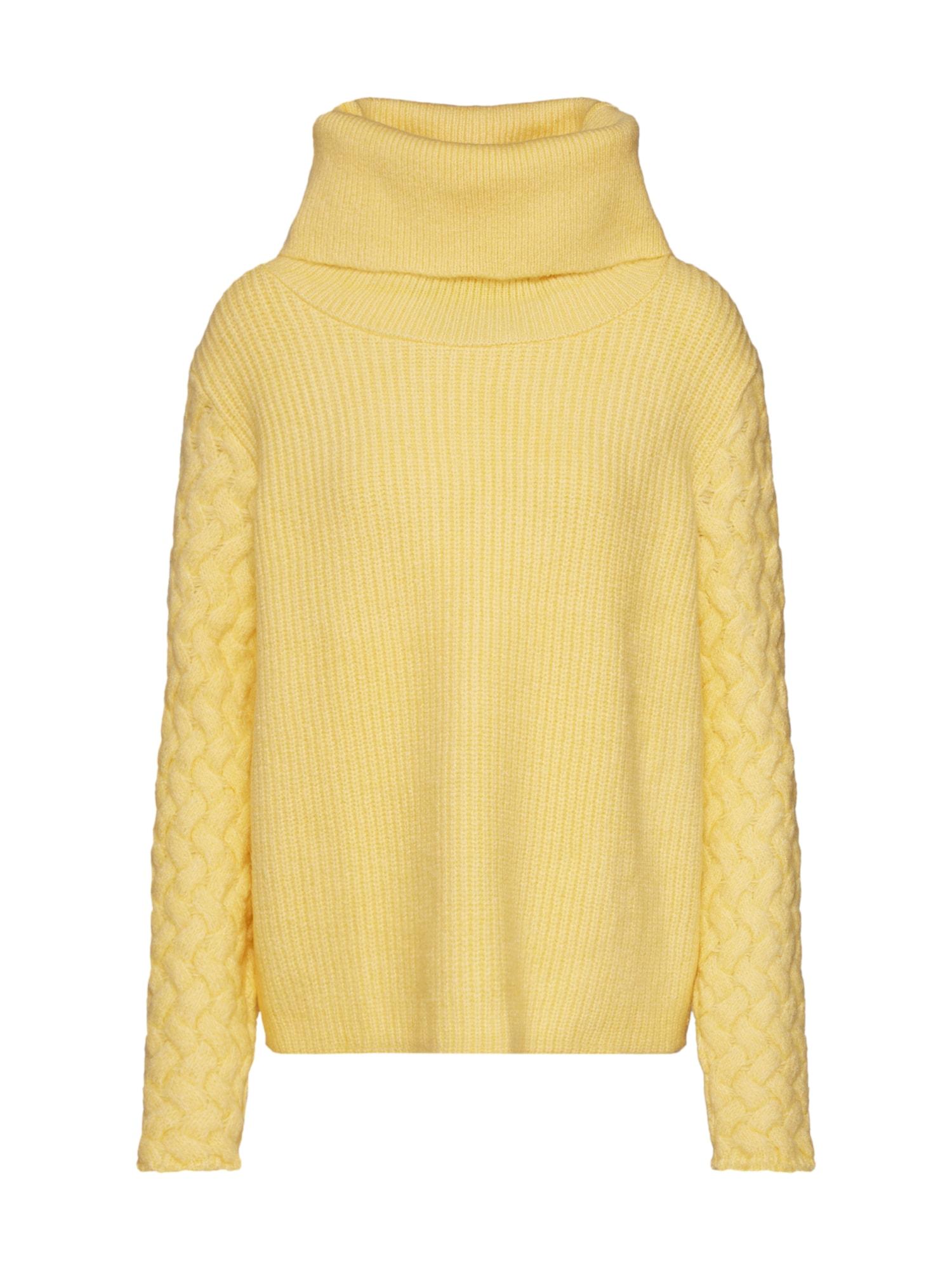 ABOUT YOU Megztinis 'Madlen' geltona