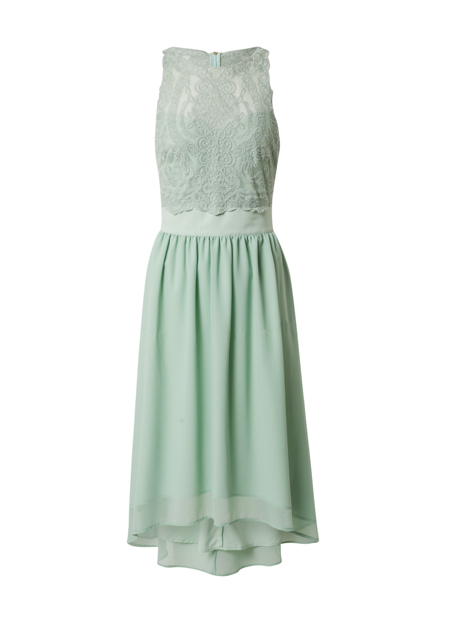 Esprit Collection Koktejlové šaty 'Lux Fluid'  mátová