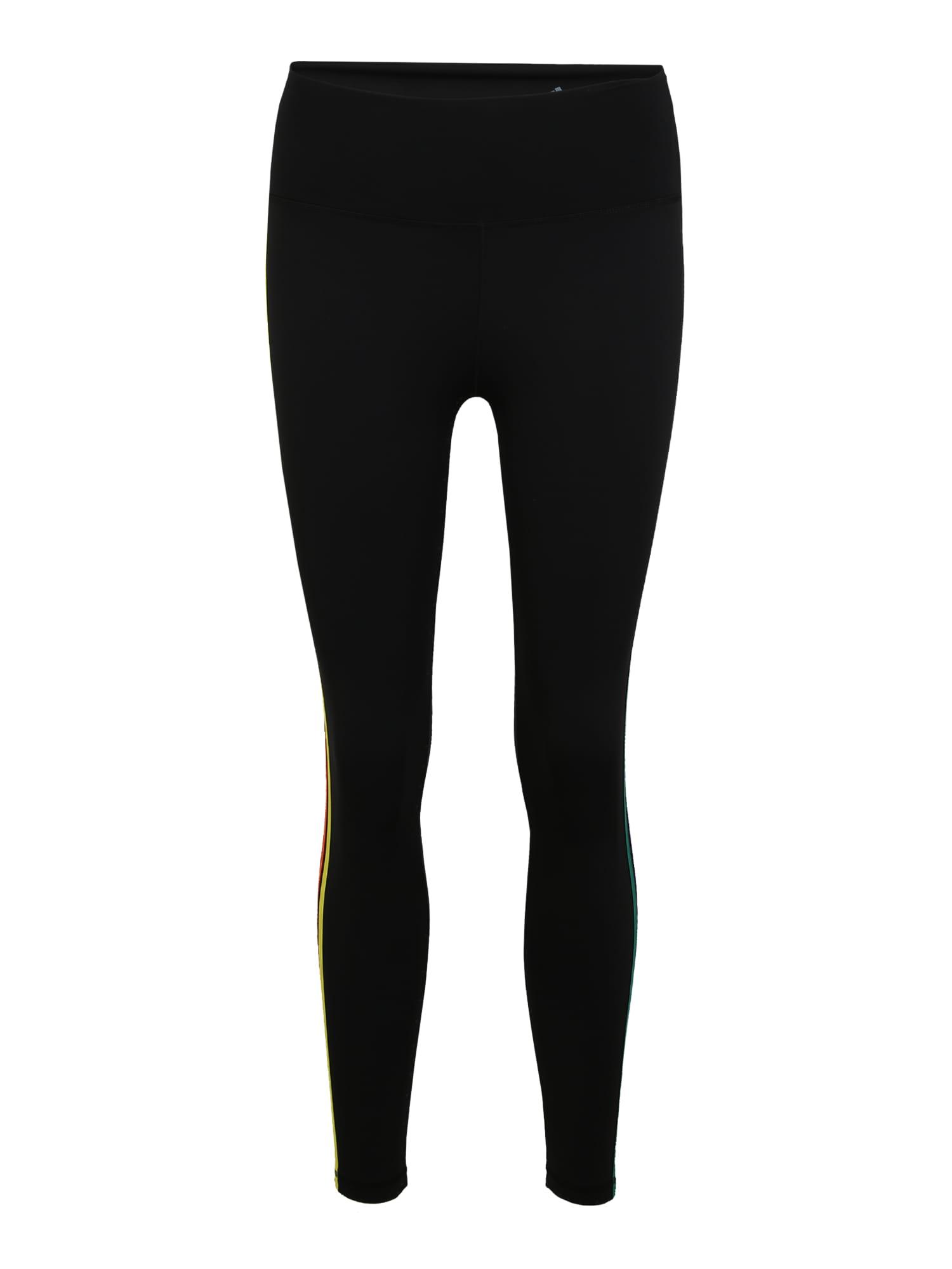 ADIDAS PERFORMANCE Sportinės kelnės juoda / mišrios spalvos