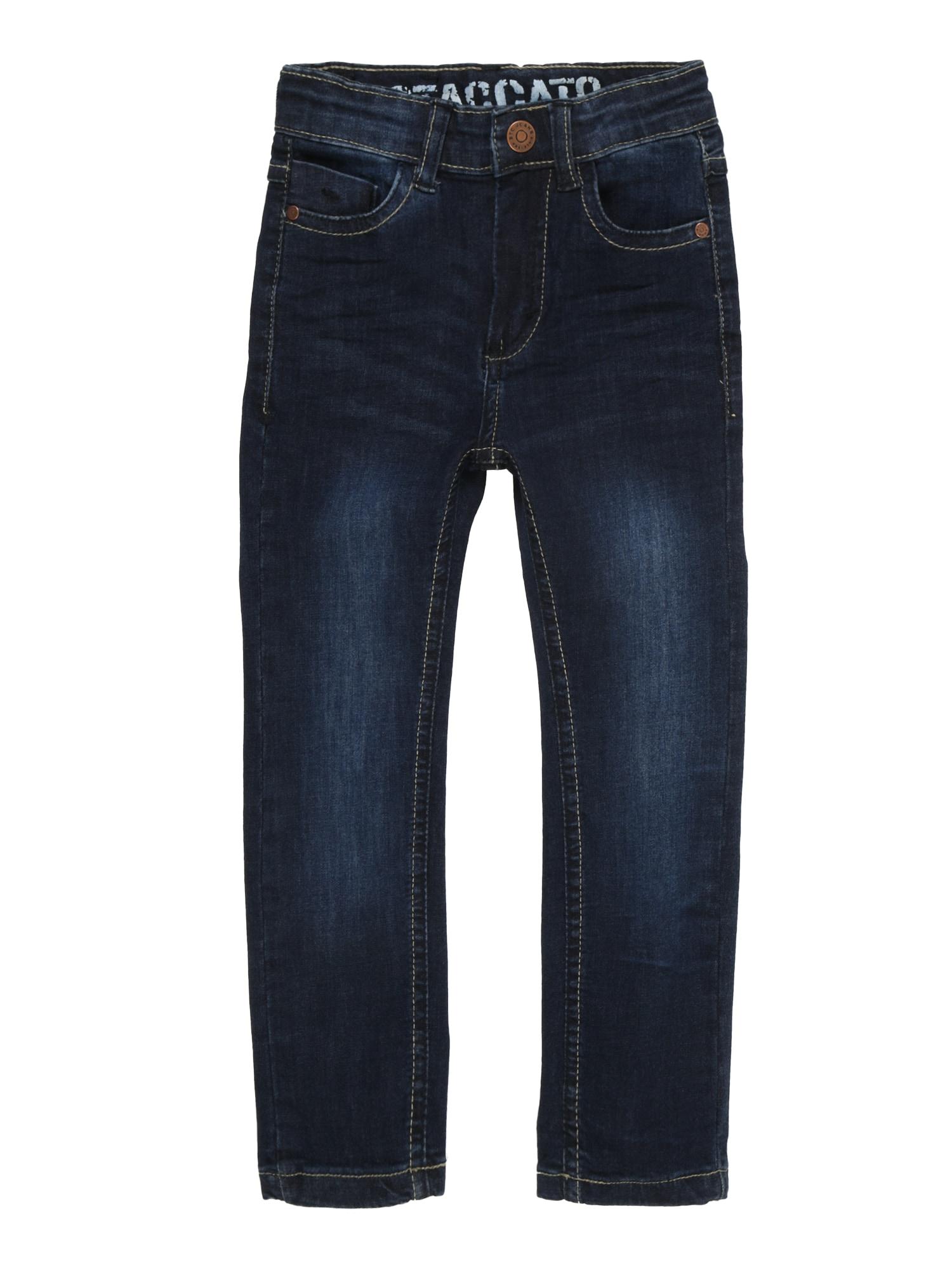 Džíny Kn.-Jeans Skinny modrá džínovina STACCATO