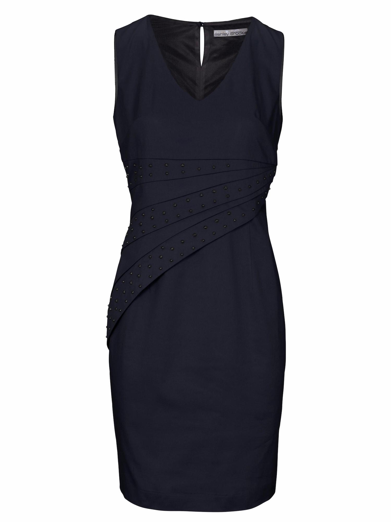 Pouzdrové šaty marine modrá Heine