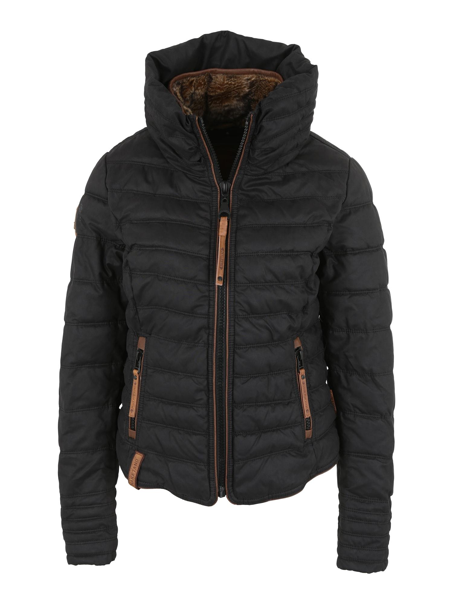 Zimní bunda Feierbiest rezavě hnědá černá Naketano