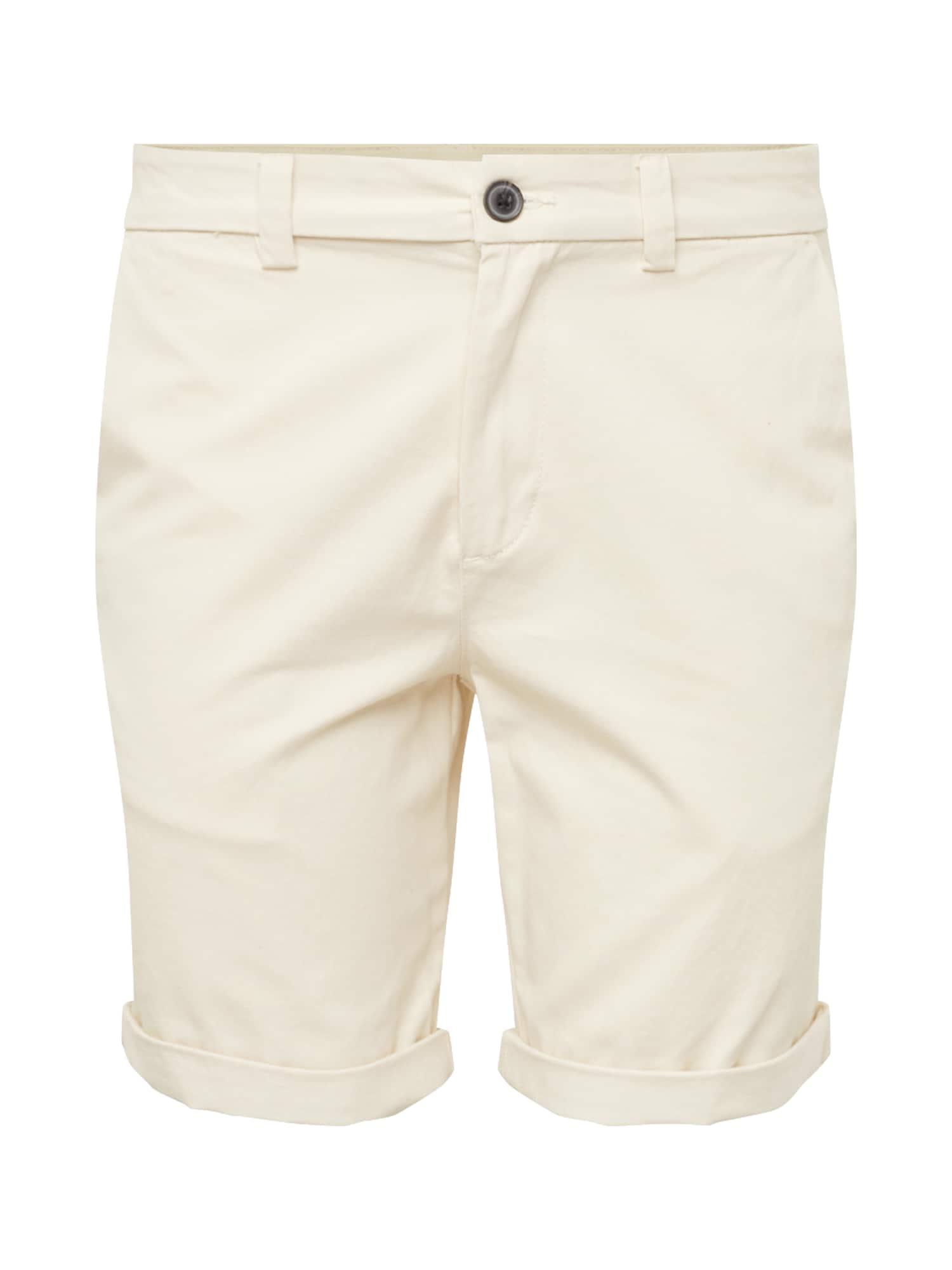 Chino kalhoty offwhite NEW LOOK