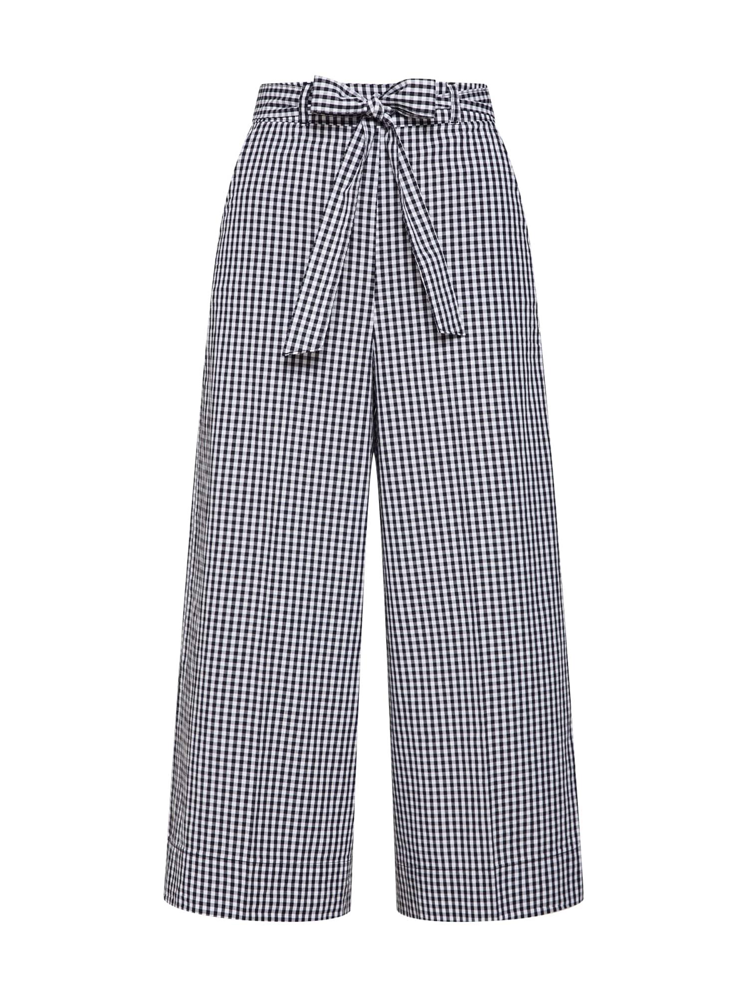 Kalhoty 10253316 černá bílá ARMEDANGELS