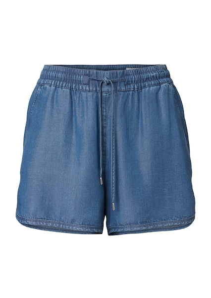 Hosen für Frauen - Marc O'Polo DENIM Shorts blue denim  - Onlineshop ABOUT YOU