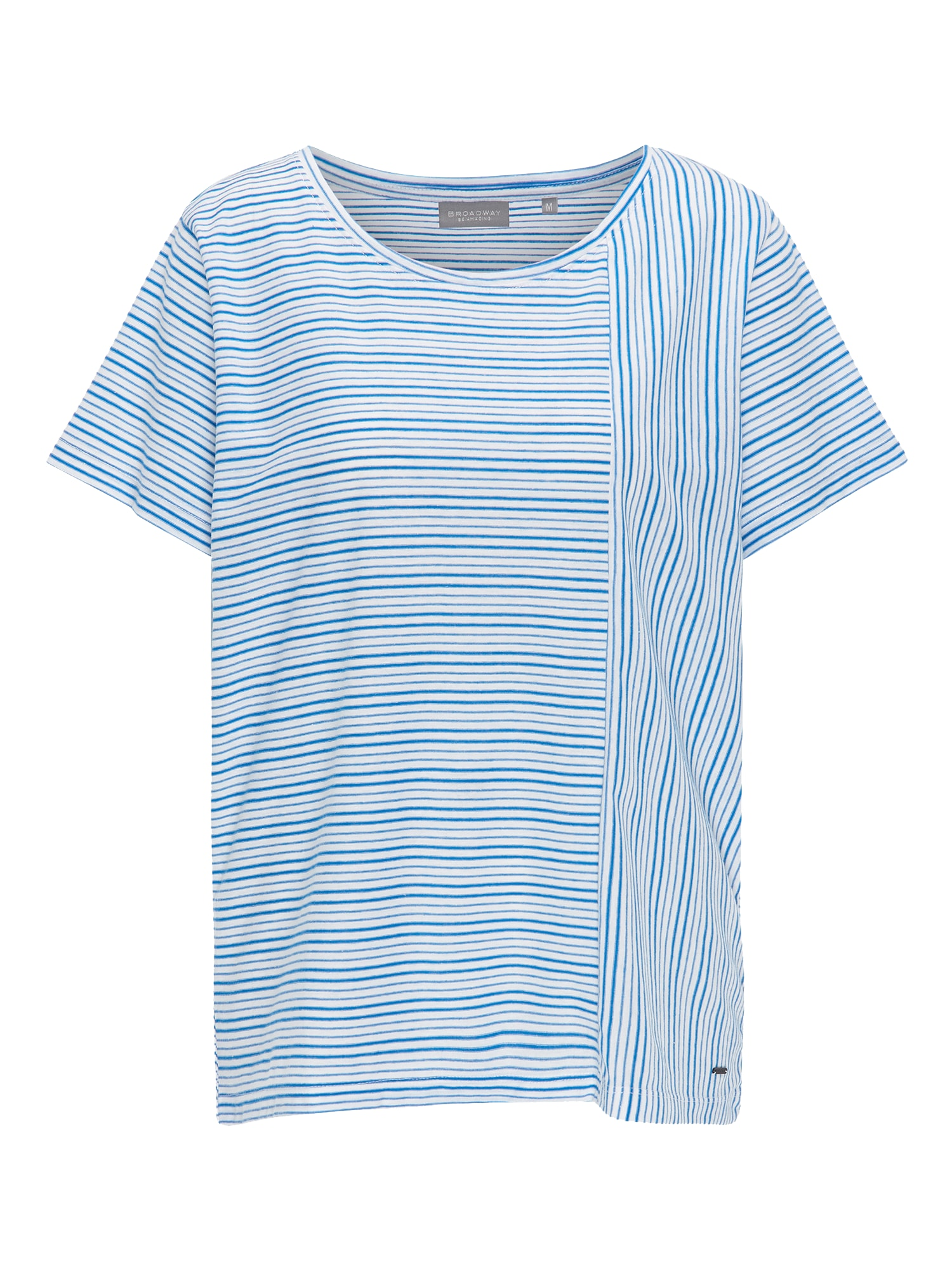 Tričko PETRA tmavě modrá bílá BROADWAY NYC FASHION