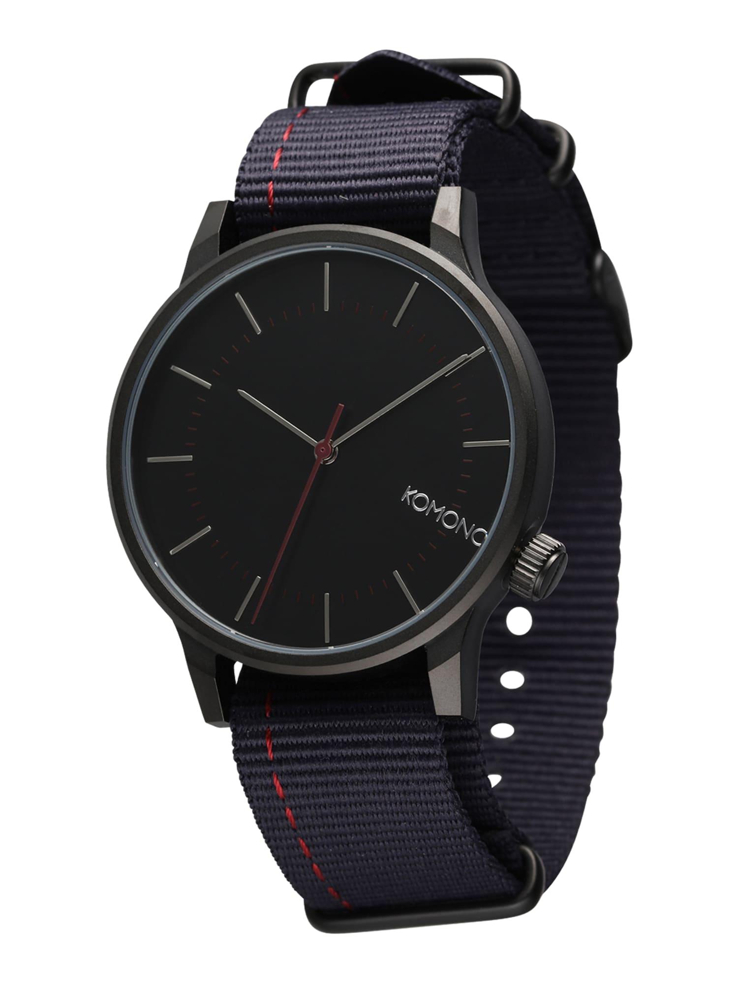 Analogové hodinky Winston Regal Nato marine modrá Komono