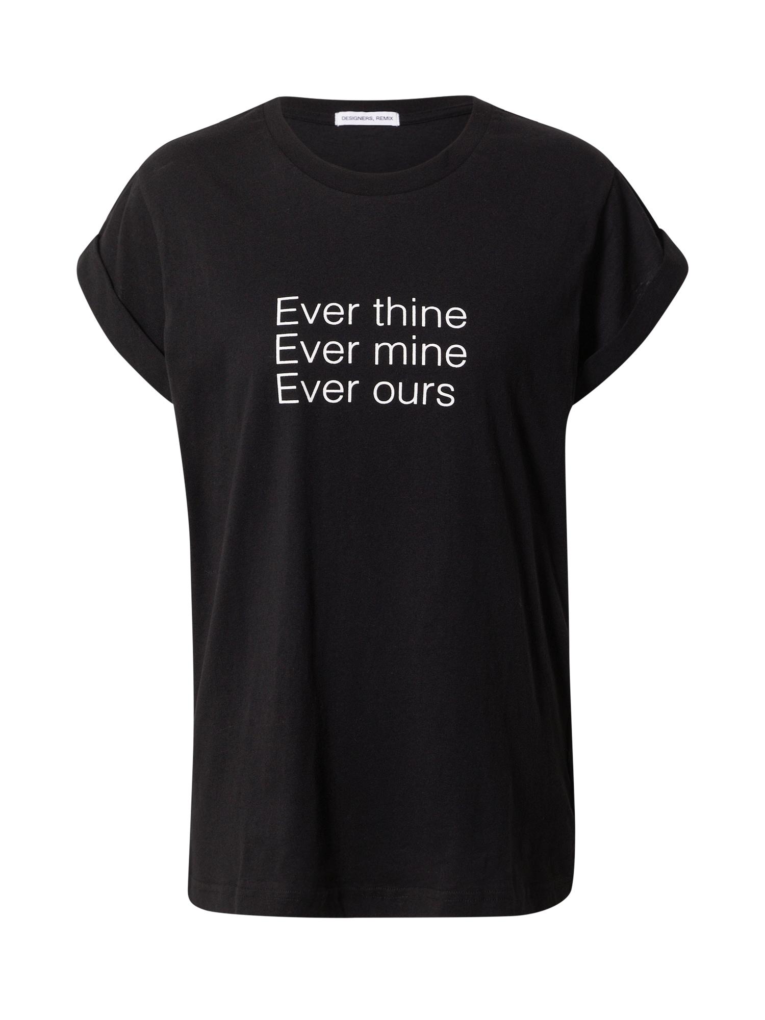 Designers Remix Marškinėliai juoda