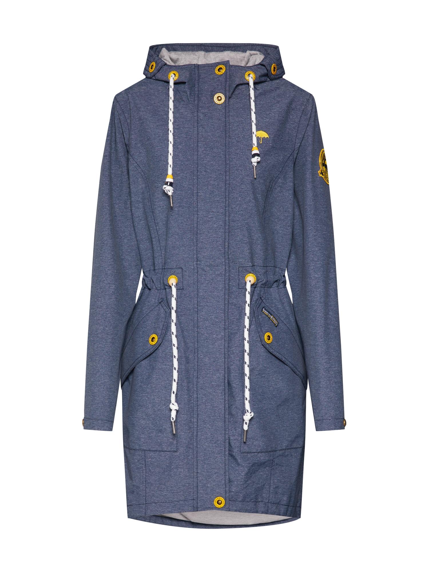 Funkční kabát Melange námořnická modř Schmuddelwedda