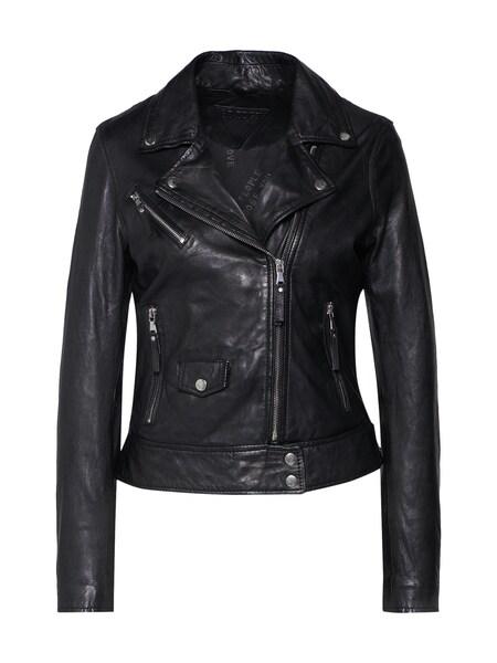 Jacken für Frauen - BE EDGY Lederjacke 'BEfrances' schwarz  - Onlineshop ABOUT YOU