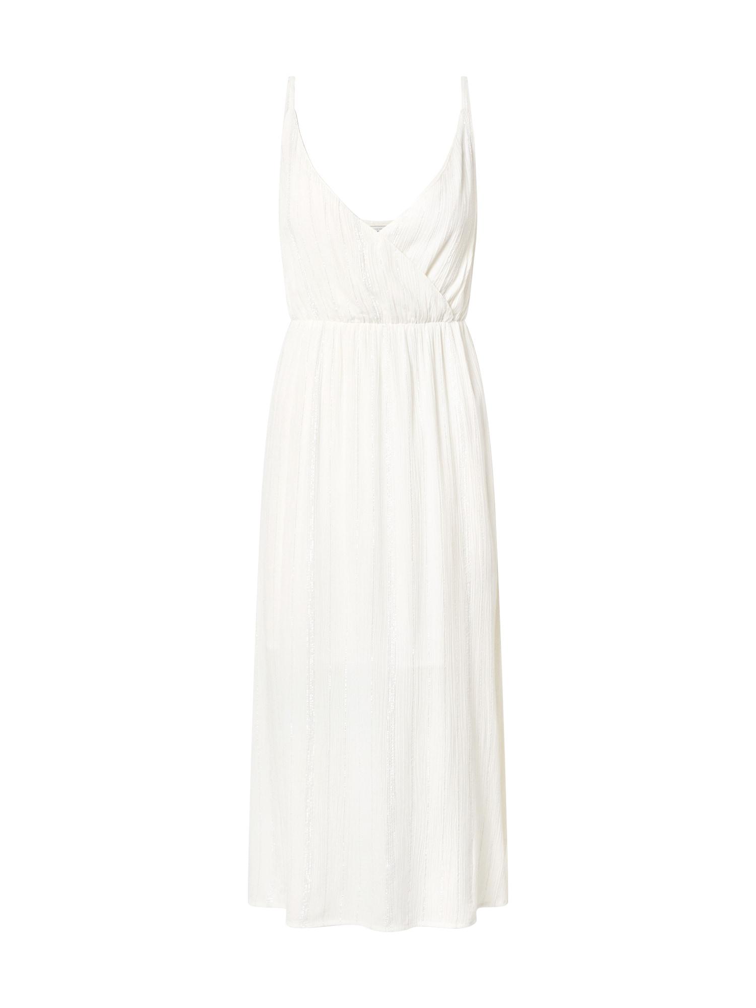 Pimkie Kokteilinė suknelė sidabrinė / balta