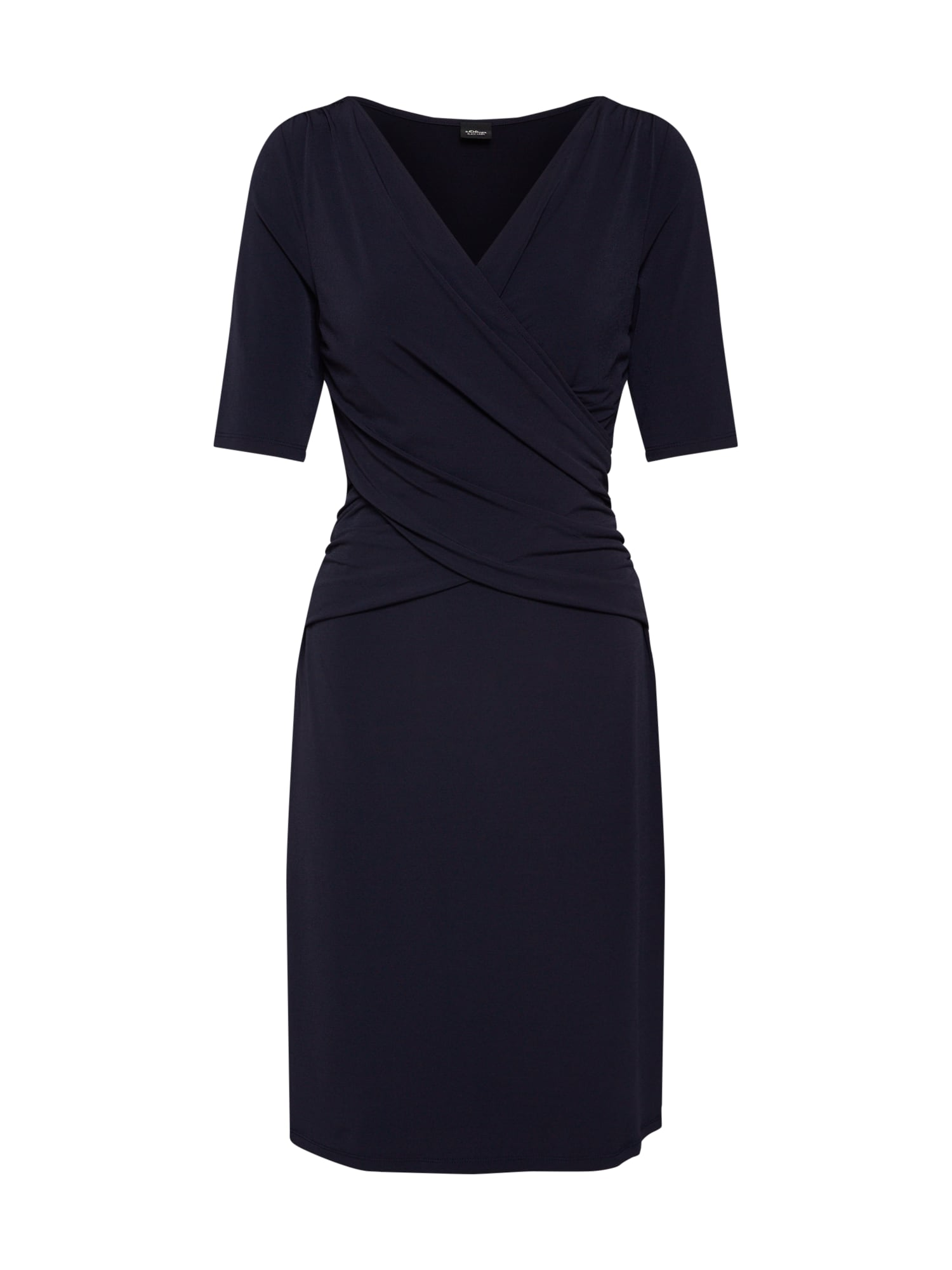 Šaty noční modrá S.Oliver BLACK LABEL