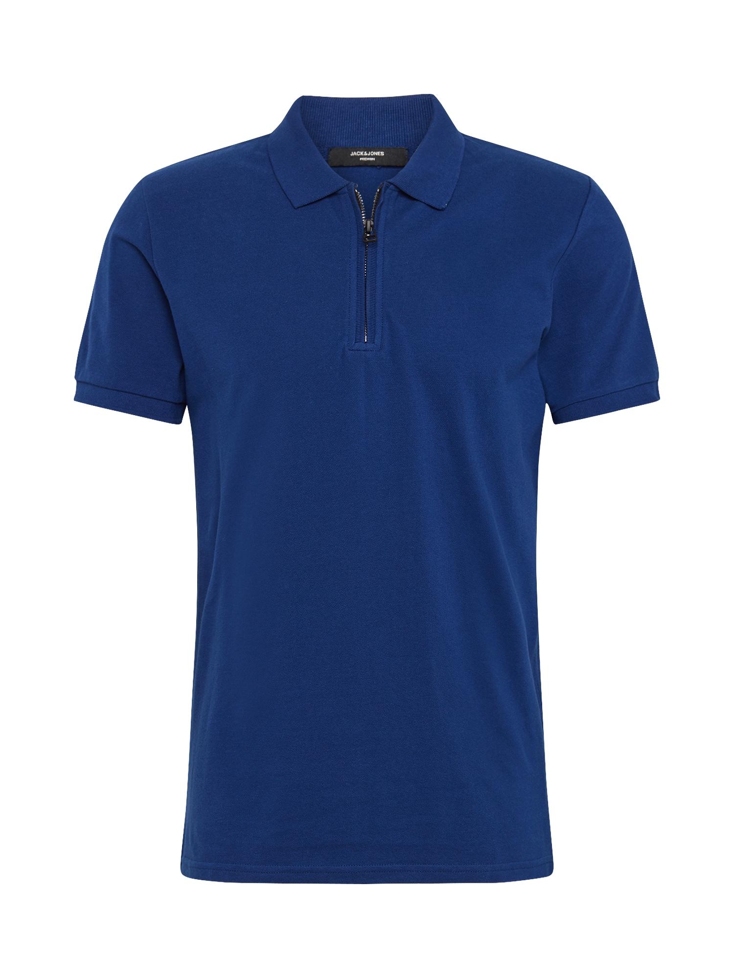 JACK & JONES Tričko 'BENJAMIN'  modré