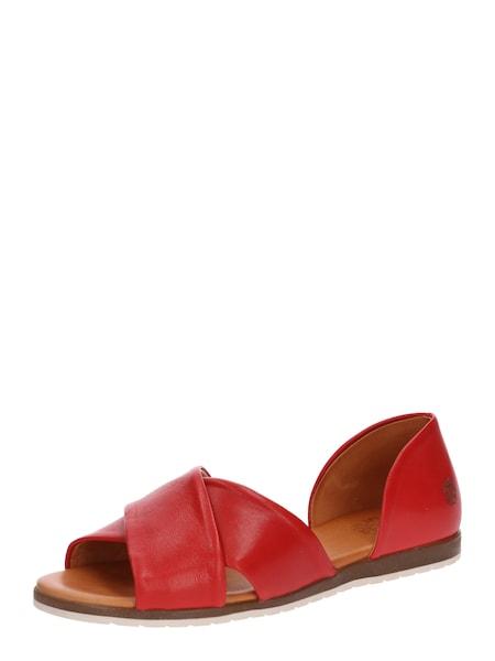 Sandalen für Frauen - Apple Of Eden Sandale 'Chiusi' rot  - Onlineshop ABOUT YOU