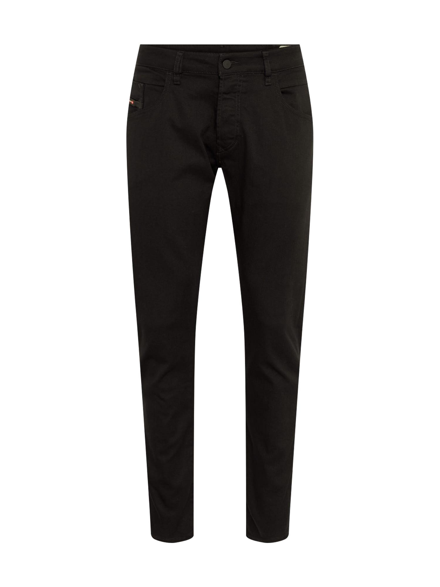 DIESEL Džinsai 'BAZER' juodo džinso spalva