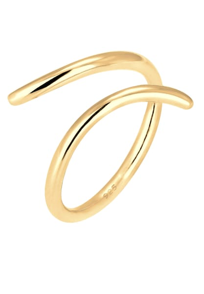 Ringe für Frauen - ELLI Wickelring 'Geo' gold  - Onlineshop ABOUT YOU
