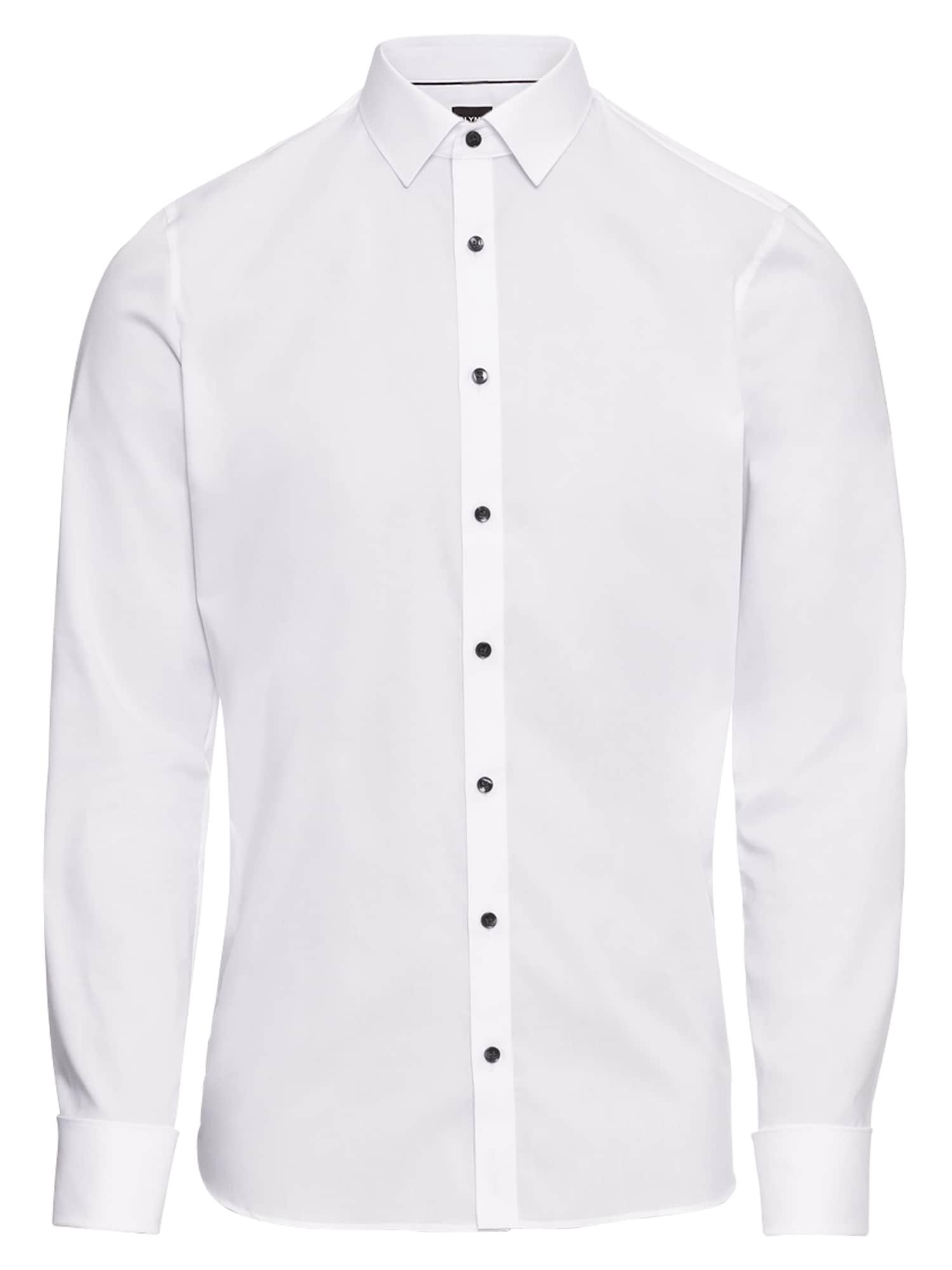 Společenská košile Soiree No.6 Uni Pop bílá OLYMP