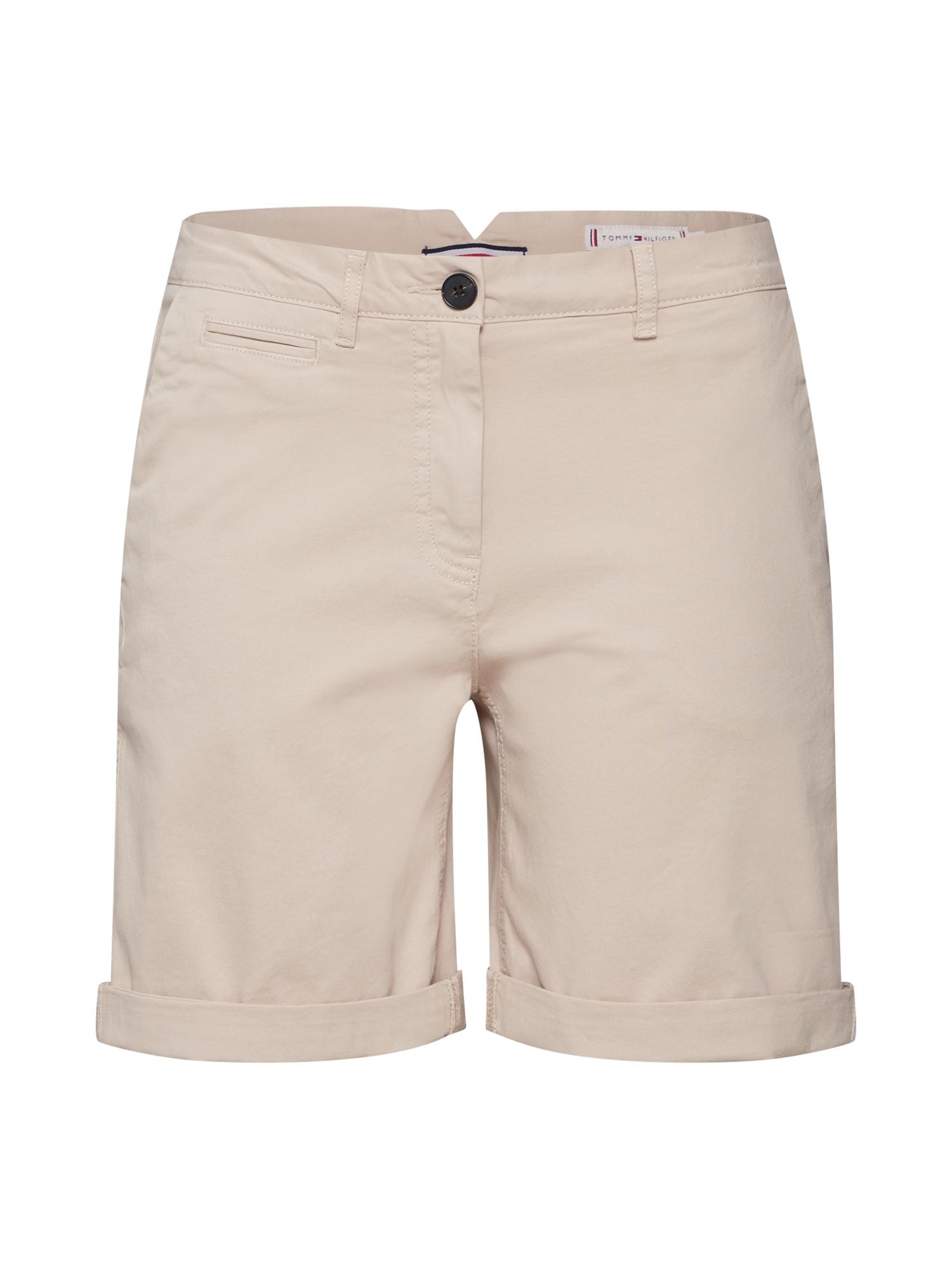 Chino kalhoty HUNTER béžová velbloudí TOMMY HILFIGER