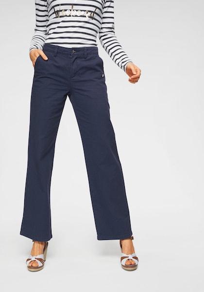 Hosen für Frauen - Chinohose › Tom Tailor Polo Team › navy  - Onlineshop ABOUT YOU