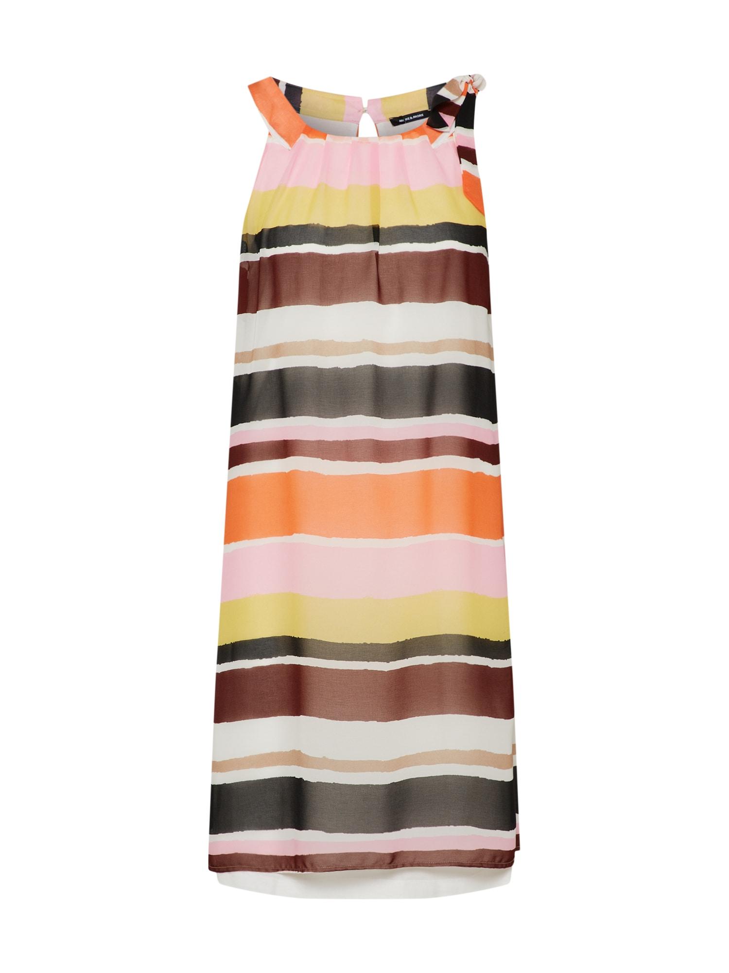 Letní šaty mix barev MORE & MORE