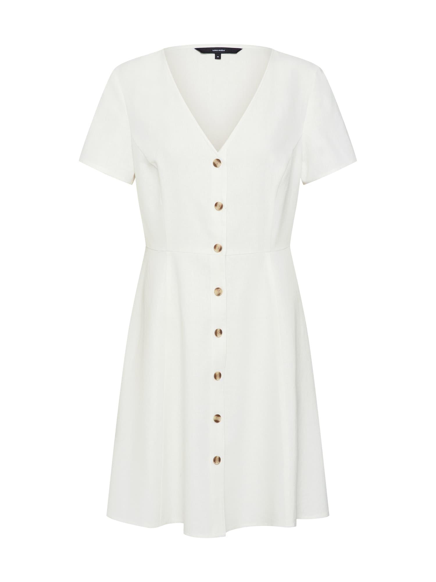 Letní šaty ANNA bílá VERO MODA