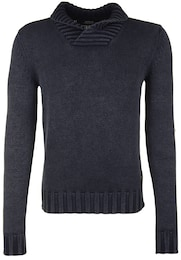 REPLAY Herren Strickpullover in Used-Waschung anthrazit   08054959801227