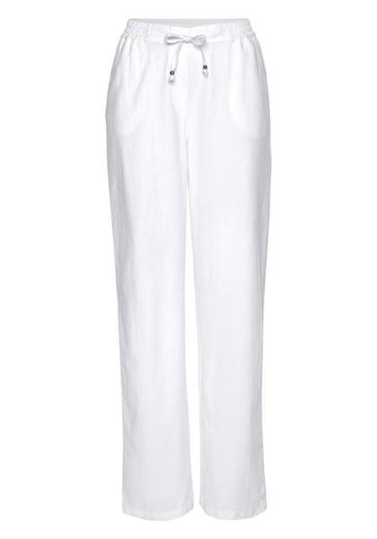 Hosen für Frauen - BOYSEN'S Chinohose weiß  - Onlineshop ABOUT YOU