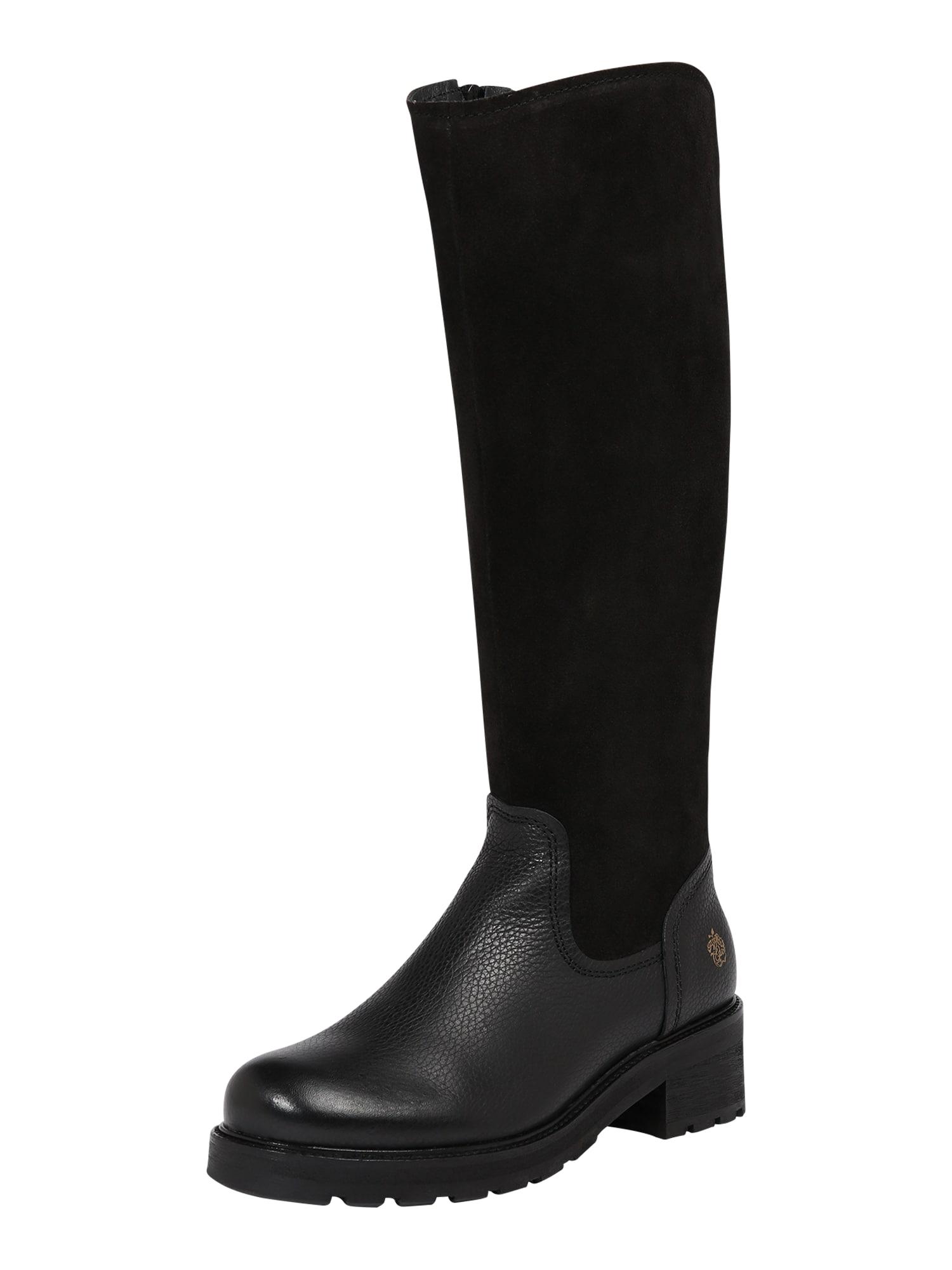 Apple of Eden Auliniai batai su kulniuku 'Aw19-Ivy' juoda