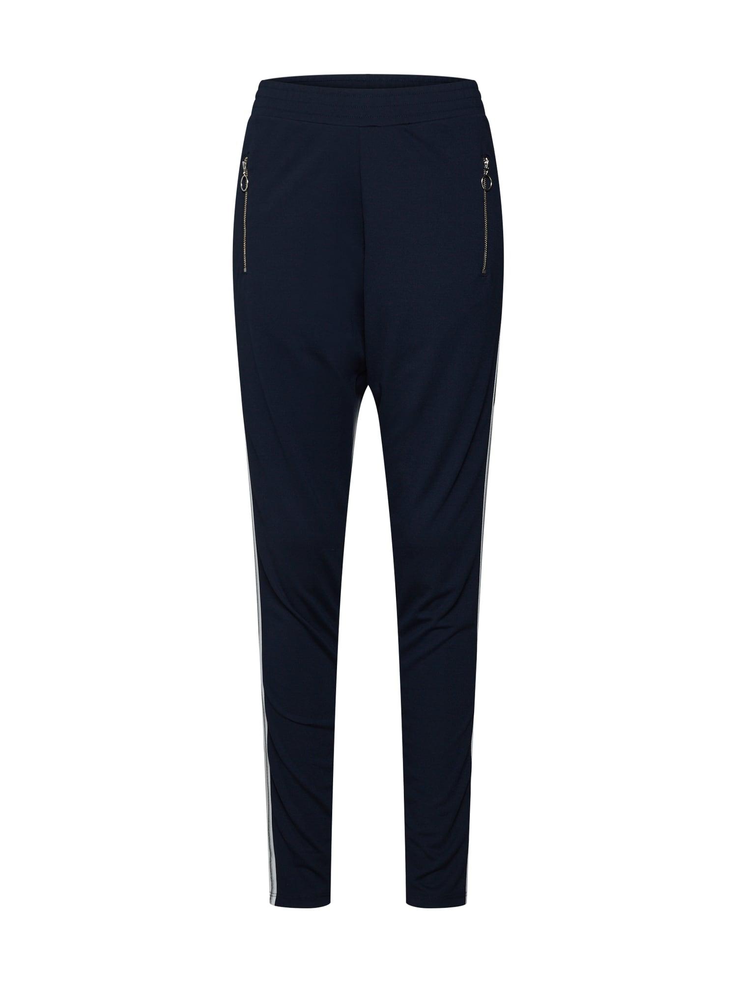 Kalhoty Geggo Pants marine modrá Kaffe