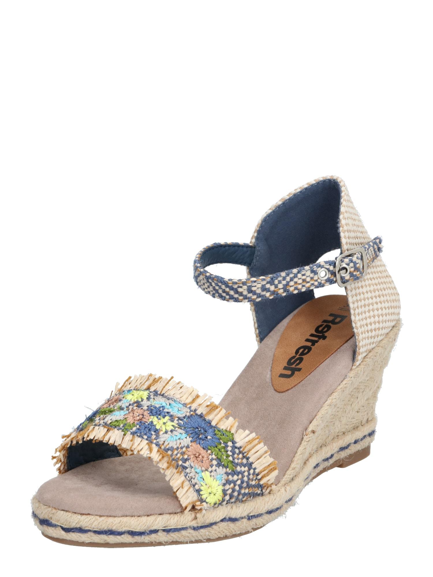 Refresh Sandalai mišrios spalvos / smėlio / mėlyna