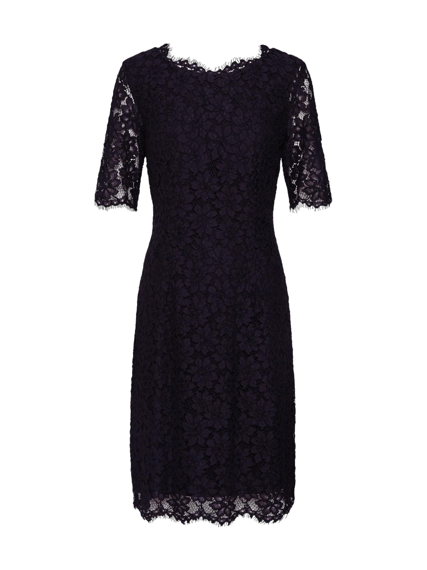 Šaty Kalissy-1 černá HUGO