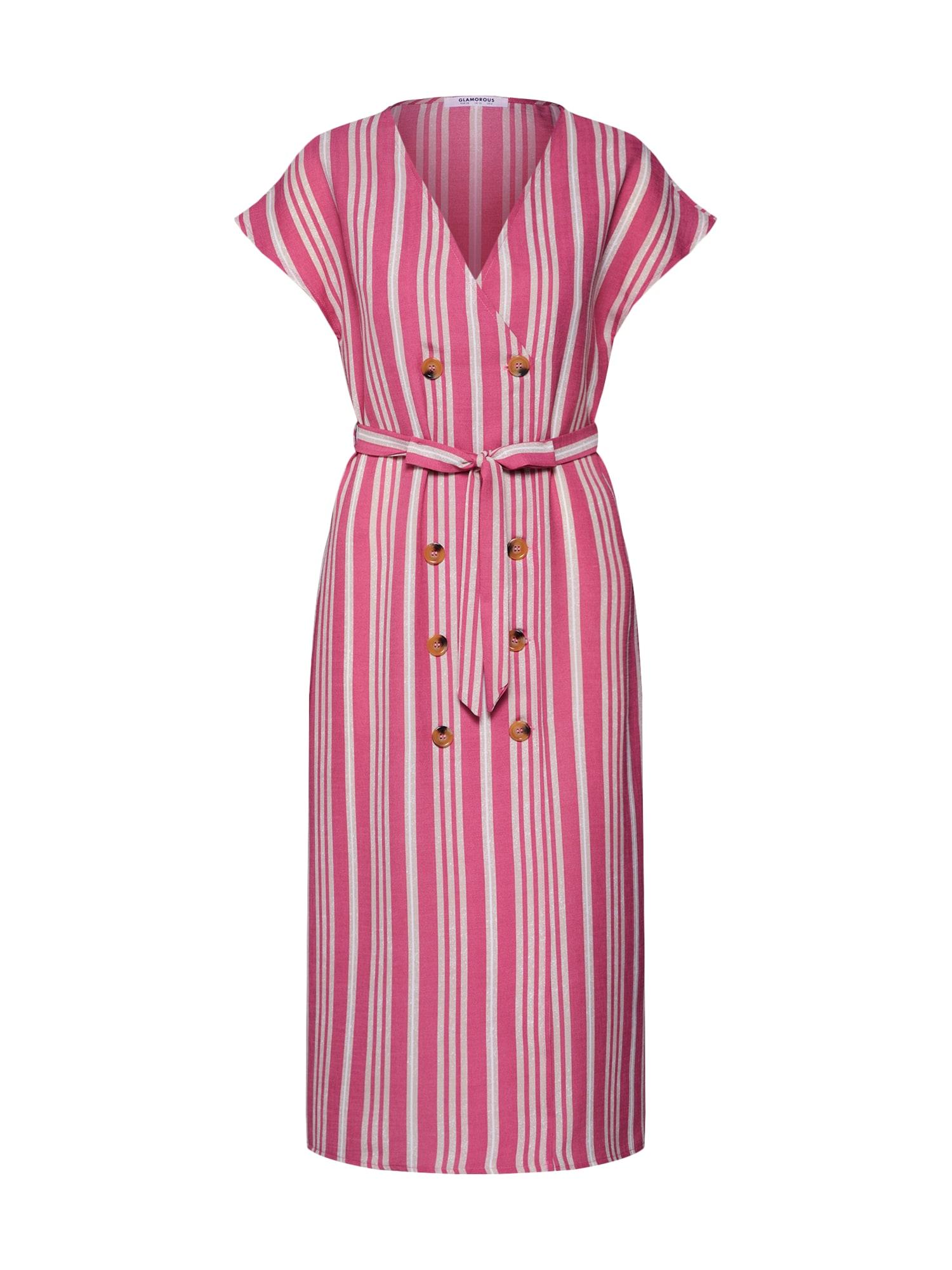 Šaty EA0106 pink GLAMOROUS