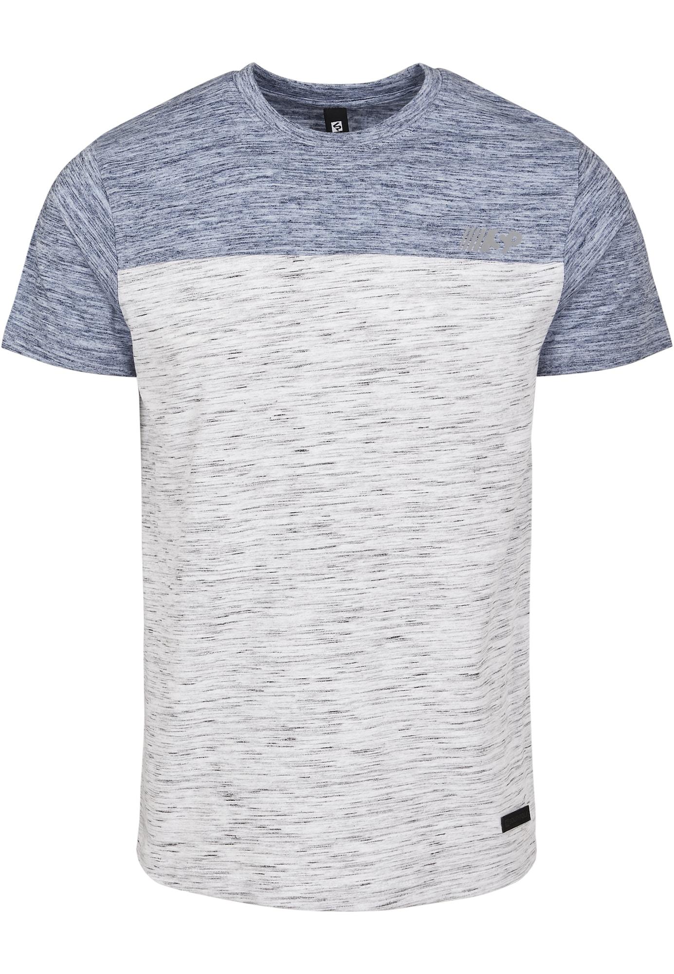SOUTHPOLE Marškinėliai margai balta / margai mėlyna
