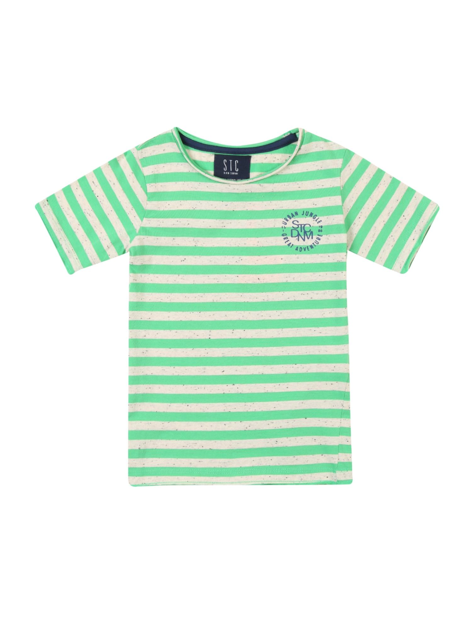 Tričko modrá zelená offwhite STACCATO