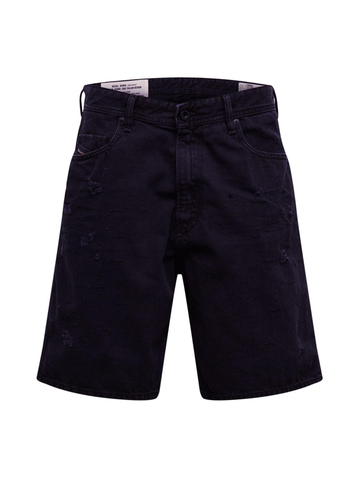 DIESEL Džinsai 'D-WILLOH' juodo džinso spalva