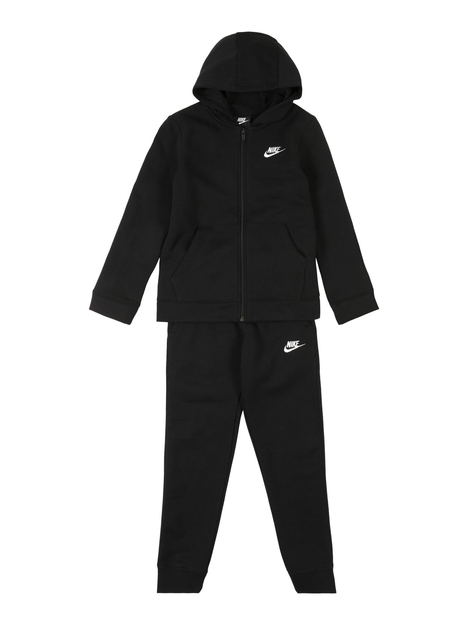 Nike Sportswear Laisvalaikio kostiumas 'B NSW TRK SUIT CORE BF' juoda